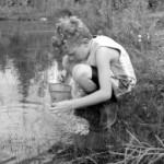 studying pond
